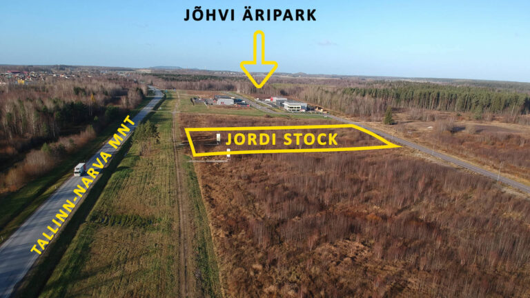 Расположение 3 - Jordi Stockoffice - Ehitusfirma Rand ja Tuulberg AS