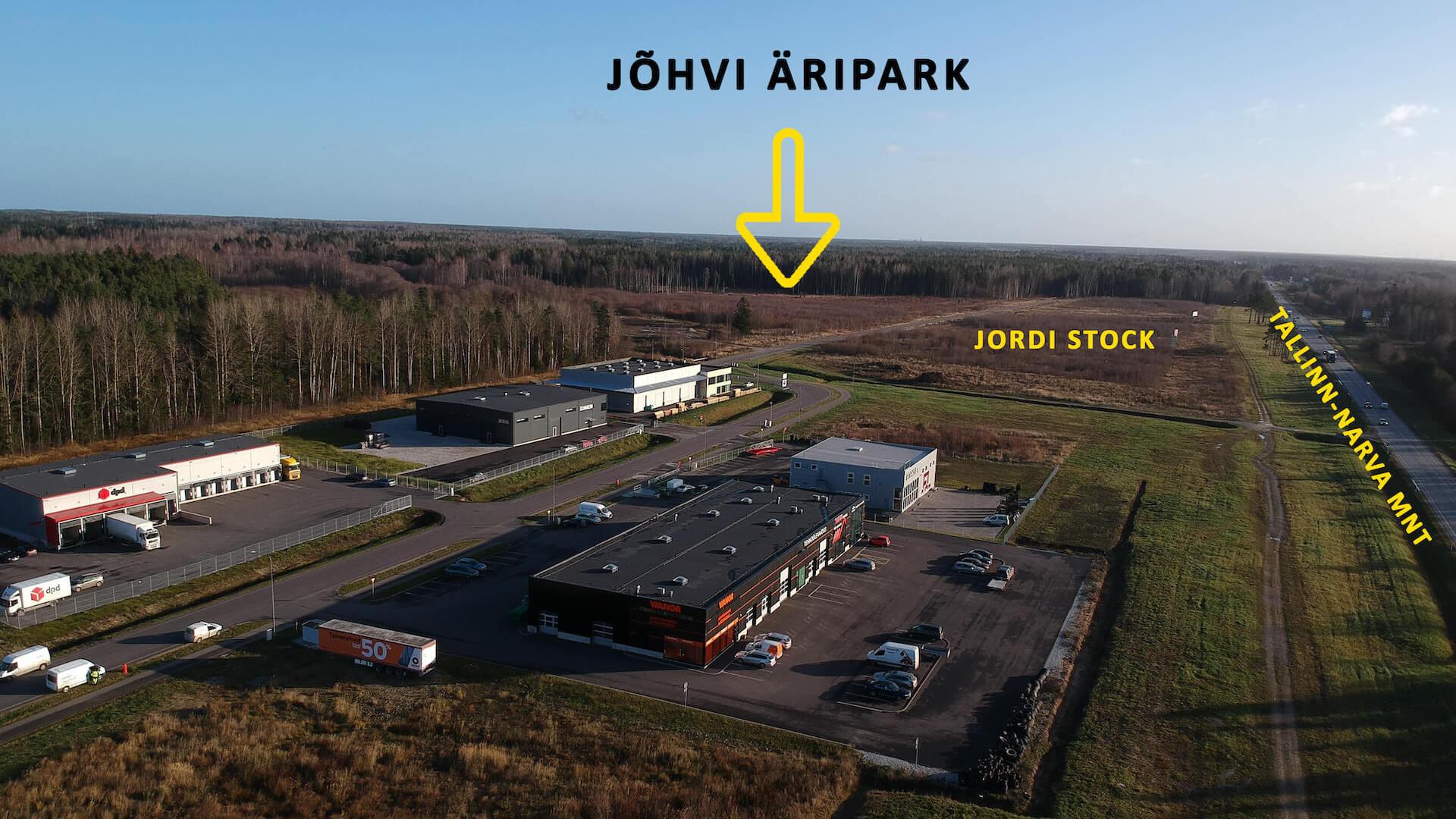 Asukoht - Jordi Stockoffice - Ehitusfirma Rand ja Tuulberg AS