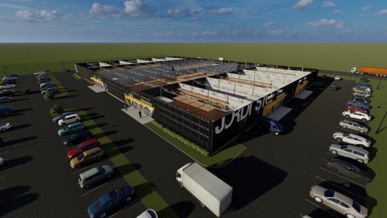 Ehitus 1 - Jordi Stockoffice - Ehitusfirma Rand ja Tuulberg AS