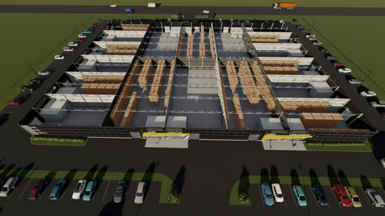 Строительство 2 - Jordi Stockoffice - Ehitusfirma Rand ja Tuulberg AS