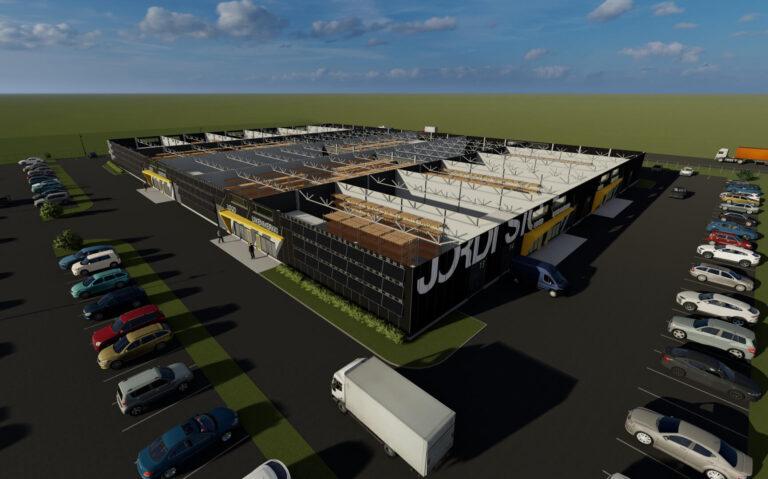Ehitus - Jordi Stockoffice - Ehitusfirma Rand ja Tuulberg AS